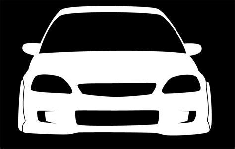 Honda Civic Ek Ej8 Em1 Ej7 Jdm Car Sticker Decal Turbo
