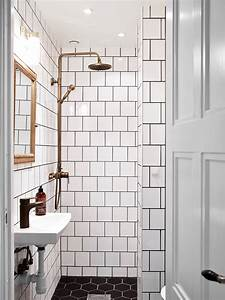 decordots scandinavian interior With white bathroom tiles with black grout
