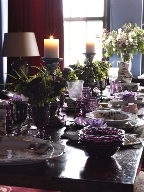 table centerpieces using photos wedding decoration gorgeous picture of purple wedding