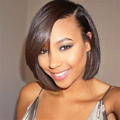 Black Hairstyles For Relaxed Hair by 835 Best Bob Medium Hairstyles Images On