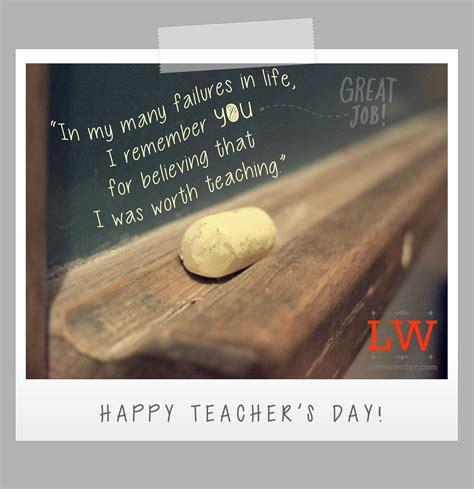 letter   teachers  long   letter writer