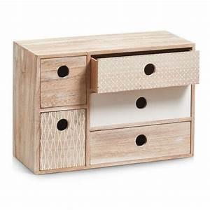 Rangement Tiroir Bois : petit tiroir en bois homeezy ~ Edinachiropracticcenter.com Idées de Décoration
