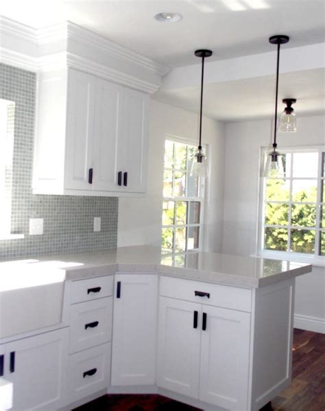 Great savings & free delivery / collection on many items. Black Handles On White Kitchen Cabinets | White kitchen cabinet handles, Kitchen cabinets, Black ...