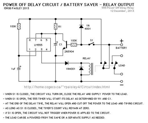 power quot off quot delay timer forum