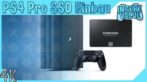 ps4 pro neue version ps4 pro ssd einbau ps4 pro ausgepackt und neue festplatte eingebaut