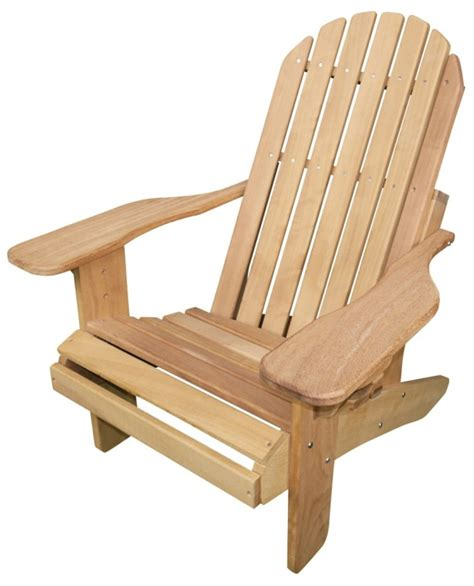 muskoka hardwood chair in iroko adirondack co uk