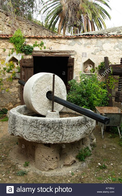 olive oil stone press mill crush crusher cyprus cypriot