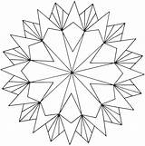 Coloring Symmetry Pages Colouring Printable Getcolorings Adults sketch template