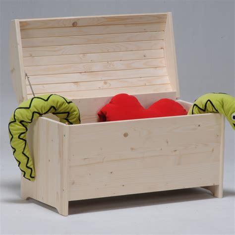 stickers chambres bébé coffre à jouets bois sapin avec abattant anti pincement