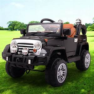 Kids Ride On Jeep Style 12v Battery Powered
