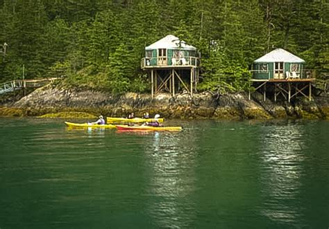 islands for small kitchens orca island cabins stay and kayak on a island