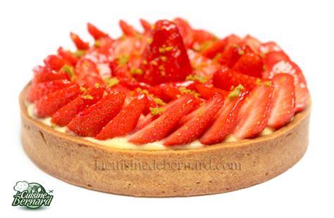 la cuisine de aux fraises la cuisine de bernard tarte aux fraises