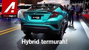 Mobil Hybrid Toyota Indonesia Di Iims 2019  C-hr  U0026 Alphard