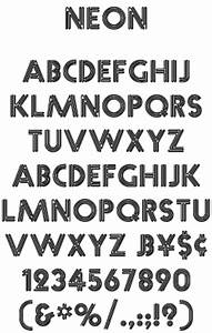 Bowfin Printworks Font Identification Type Samples