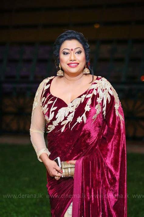 nirosha wirajini sri lankan singer saree b s blouse designs beautiful saree stylish