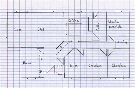 faire plan cuisine cuisine ment faire le plan de sa maison faire plan de