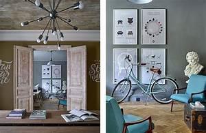 Casa Ufficio Con Opere D U0026 39 Arte E Arredi Vintage By A3interior Design