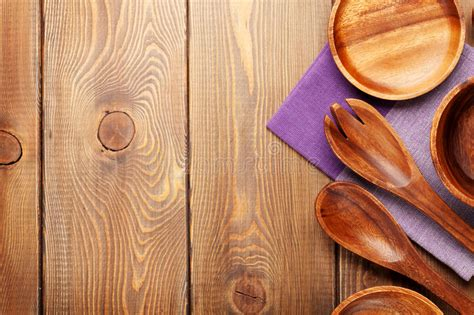 table high resolution kitchen background wood kitchen utensils wooden table background stock