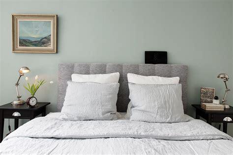 chambre tete de lit chambre avec tête de lit en tweed