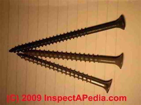 deck building deck building nails screws