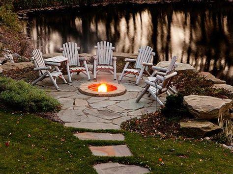 outdoor firepit fire pit ideas hgtv