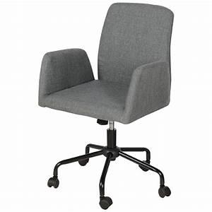 Chaise De Bureau Grise Maison Design