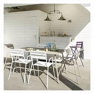 Salon Jardin Fermob. salon de jardin fermob monceau table l146 l80cm ...