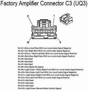 2011 Chevy Tahoe Factory Uk3 Radio Wiring Diagram