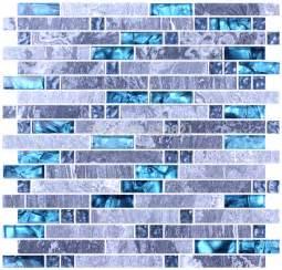 glass backsplash ideas for kitchens blue glass mosaic tile mixed grey mosaic for kitchen