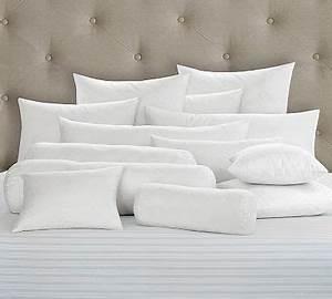 Synthetic fill bolster pillow insert 12 x 25quot euro for 30 x 30 euro pillow insert