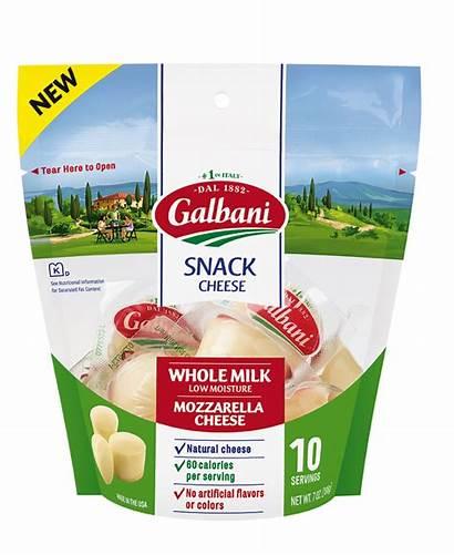 Snack Mozzarella Cheese Galbani Milk Whole Italian