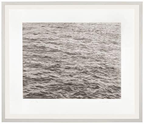 VIJA CELMINS (B. 1938) , Untitled (Ocean with Cross #1 ...