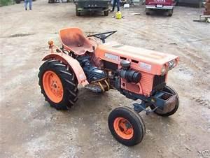Kubota Tractor Service Manual B Series Workshop Repair