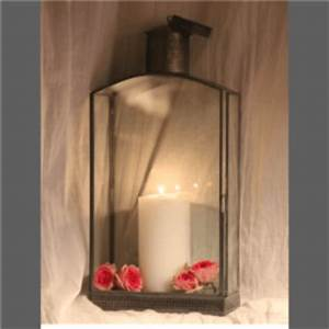 Lanterne Exterieur A Poser : lanterne photophore d 39 ext rieur poser en verre recycl ~ Dailycaller-alerts.com Idées de Décoration