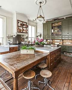 46, Inspiring, Rustic, Country, Kitchen, Ideas, To, Renew, Your
