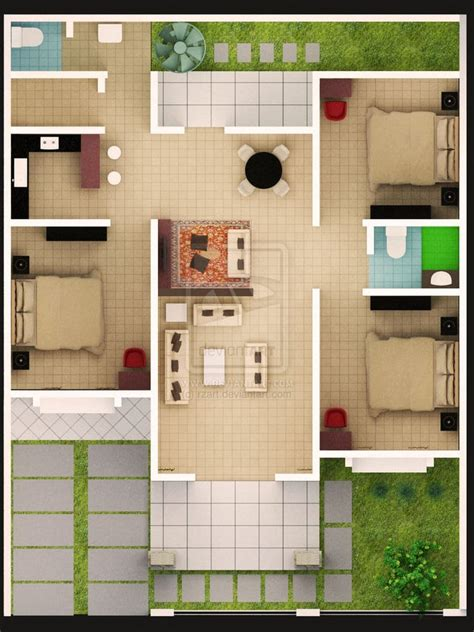 gambar desain rumah minimalis beserta ukurannya