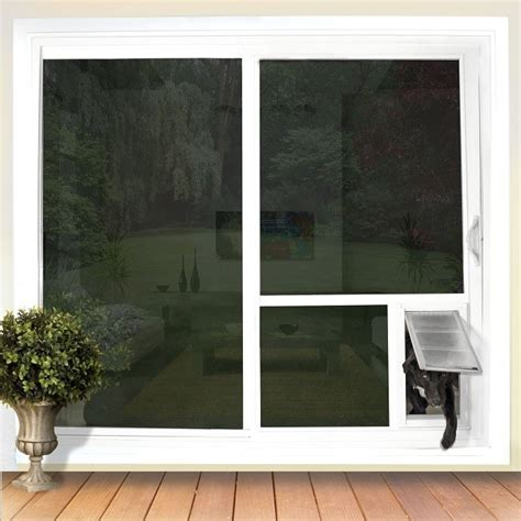 doggie doors for sliding patio doors pet door guys quot in the glass quot for sliding glass doors