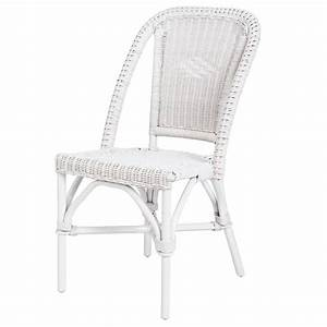 Chaise Rotin La Redoute : chaise en rotin blanc selva rotin design lot de 6 chaises soldes chaises la redoute ~ Teatrodelosmanantiales.com Idées de Décoration