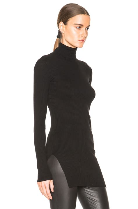 fitted sweaters for womens fitted black turtleneck sweater baggage clothing