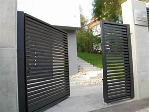 Aluminium Zaun Modern : die besten 25 einfahrt tor ideen auf pinterest tor ~ Articles-book.com Haus und Dekorationen