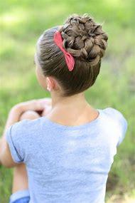 Hair Bun Cute Girls Hairstyles