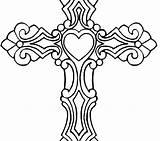 Coloring Cross Wings Cool Jesus Carrying Drawing Getcolorings Crosses Printable Roses Clipartmag sketch template