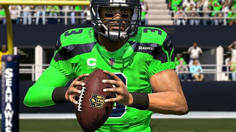 madden  seahawks  color rush jersey  rams