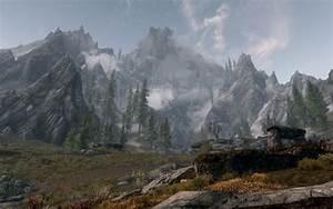 HD Skyrim: Mountain Wallpaper Download Free - 137716