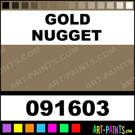 gold nugget natures hue acrylic paints 091603 gold