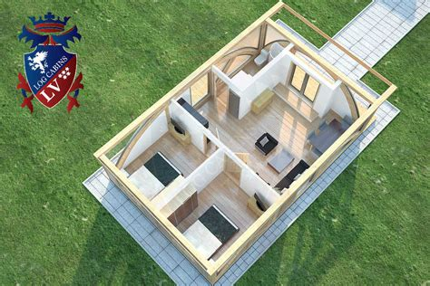 sunshine  bed residential timber frame lodge
