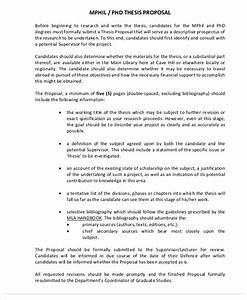 Phd Research Proposal Template Essay Writers Review Phd Research