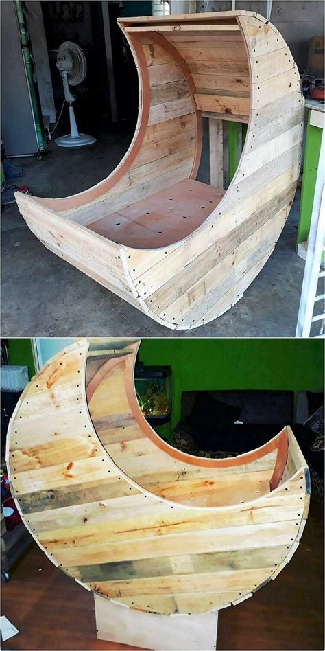 simple  creative ideas  wood pallet recycling