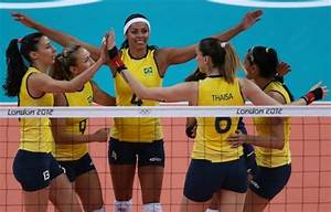 Olympic Crush: Brazil's women's volleyball team | Fourth ...