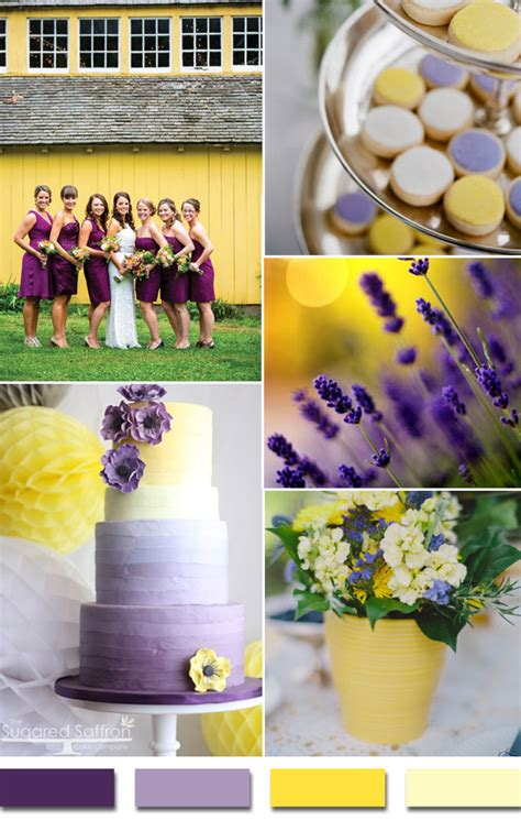 wedding theme purple and yellow 10 beautiful color themed weddings you ll want for your own wedding
